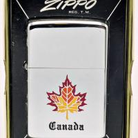 1970's Zippo Canadian Maple Leaf