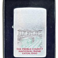 1978 Zippo Preble County National Bank Eaton, Ohio