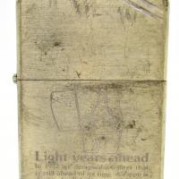 1982 Zippo 50th Anniversary Light Years Ahead.JPG