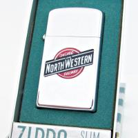 1958 Chicago & Northwestern Railway Zippo Town & Country.JPG