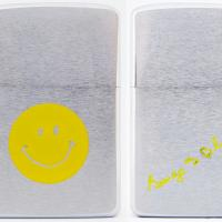 1971 Zippo Smiley Face with George Blaisdell Signature on Reverse.jpg